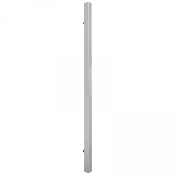 Lot de 2 poignées barre pour porte coulissante en bois, aluminium, 14 x 12 x 400 mm
