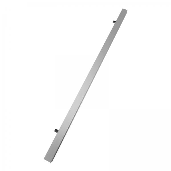 Poignée barre en aluminium 40 cm, pour porte coulissante en bois
