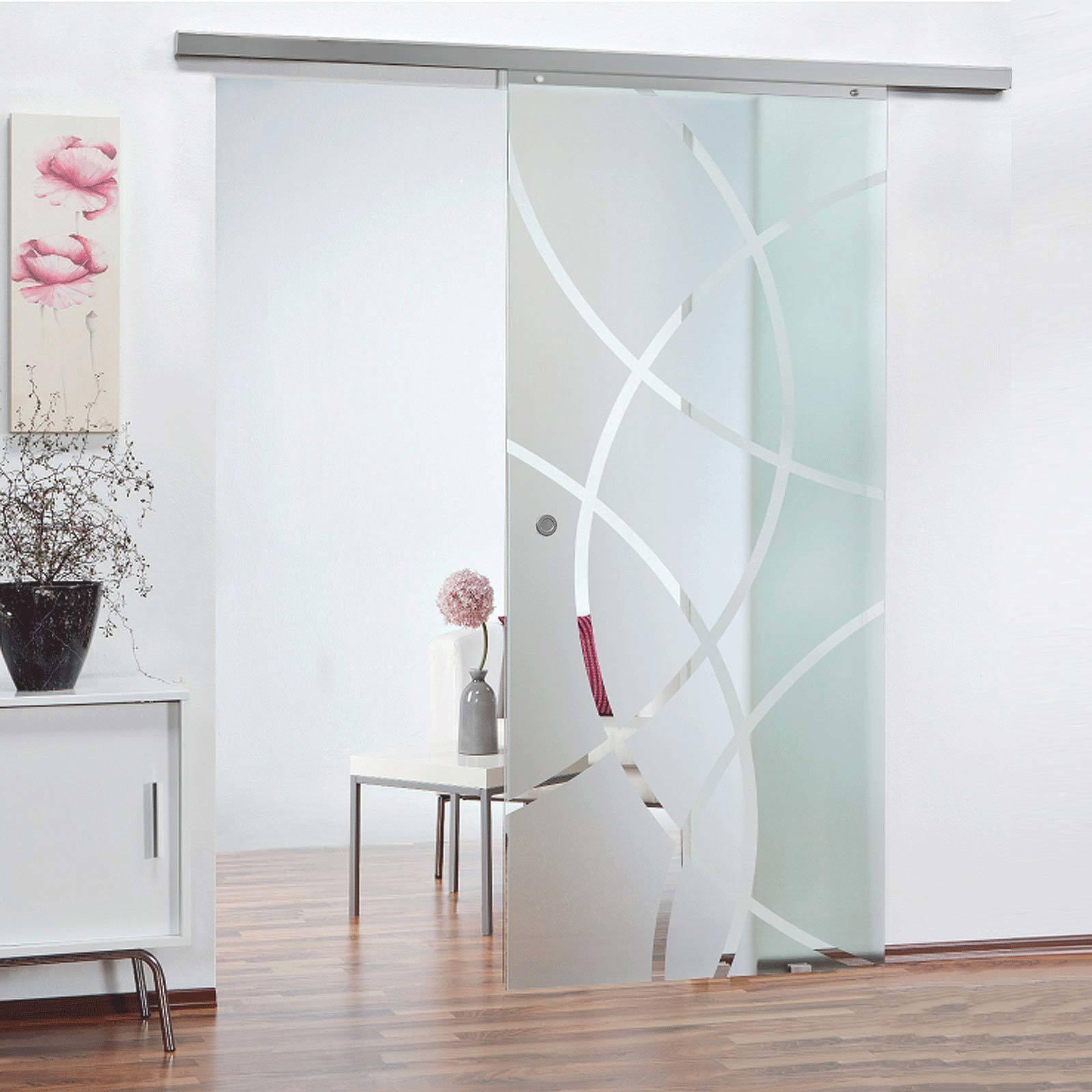 Portes intérieures coulissantes en verre – transparentes et élégantes