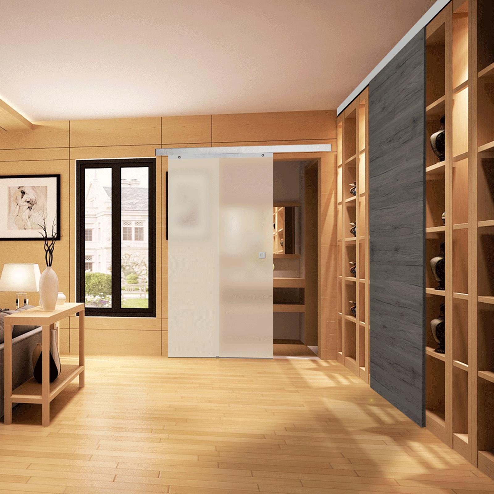 Portes Coulissantes Vitrées Intérieures porte coulissante, le séparateur de pièce idéal | inova-maison